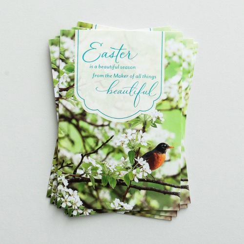 Easter note cards from Dayspring